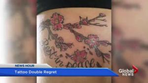 Woman speaks out about tattoo removal nightmare